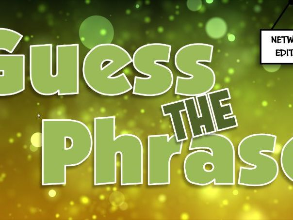 Guess the Phrase Quiz - Networks
