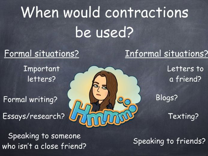 #ResourcesForArdgowan Contractions PPT and task
