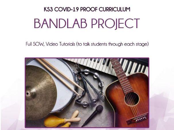 KS3 BANDLAB HOME LEARNING PROJECT