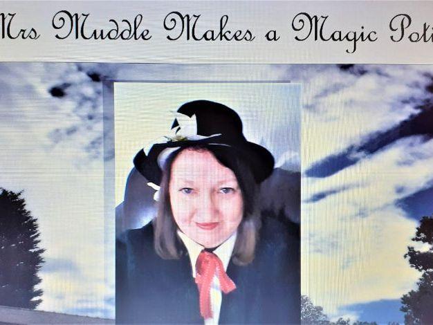 Mrs Muddle Makes a Magic Potion