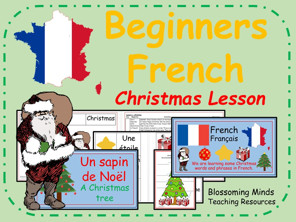 Beginner's French Lesson (KS2) - Christmas