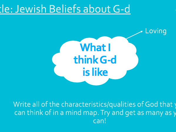 Nature of God in Judaism