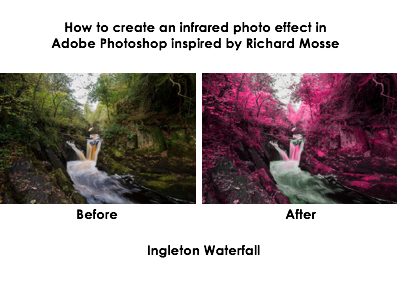 Create a infrared photo on Photoshop