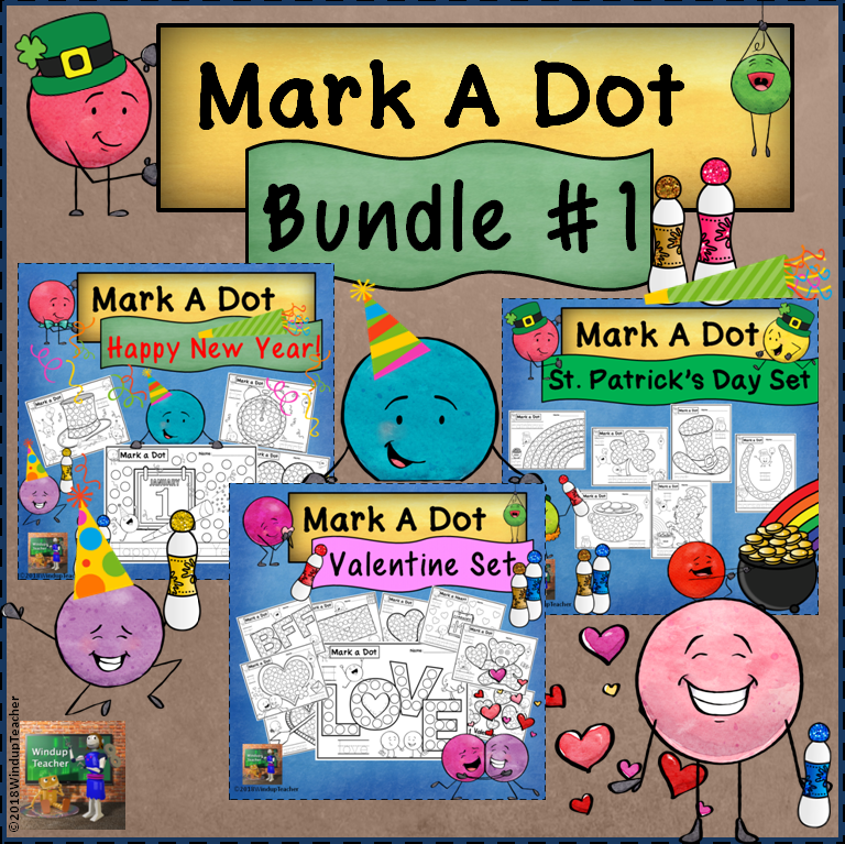 Holiday Dot Dauber Bundle #1