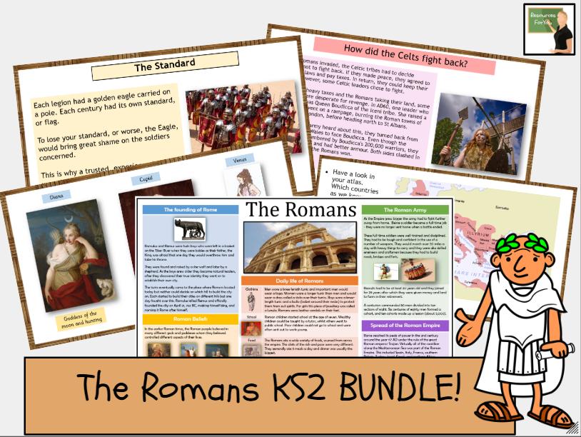 History- The Romans KS2 BUNDLE!