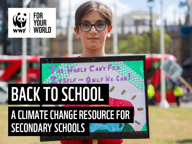 Back to School - Climate Change activities for Secondary Schools