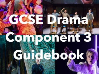 Eduqas GCSE Drama Component 3 Guidebook (New 2016 Spec)