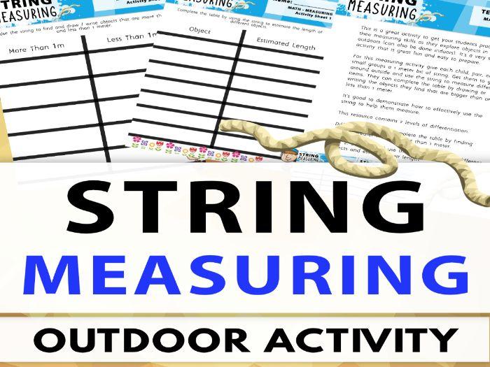 String Measuring - Estimation - Outdoor Activity