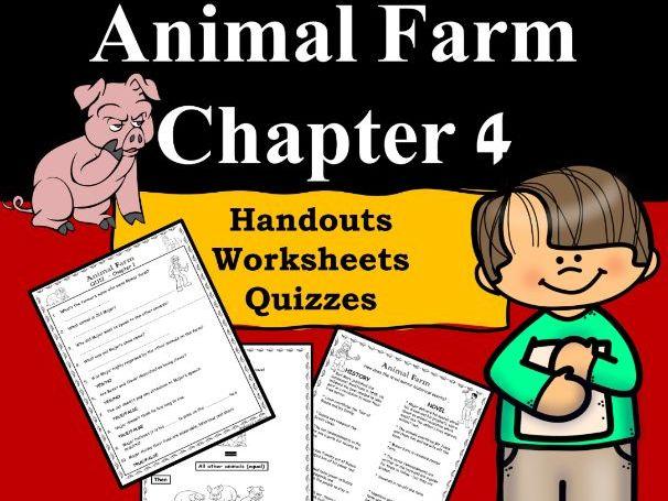 Animal Farm Ch 4 PDF/Google Slides