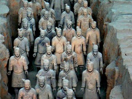 China's Terracotta Army worksheet- Independent learning- TWO DIFFERENTIATED WORKSHEETS