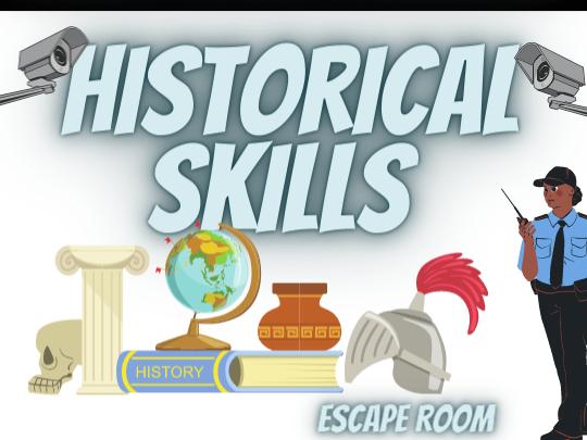 Historical Skills - Escape Room