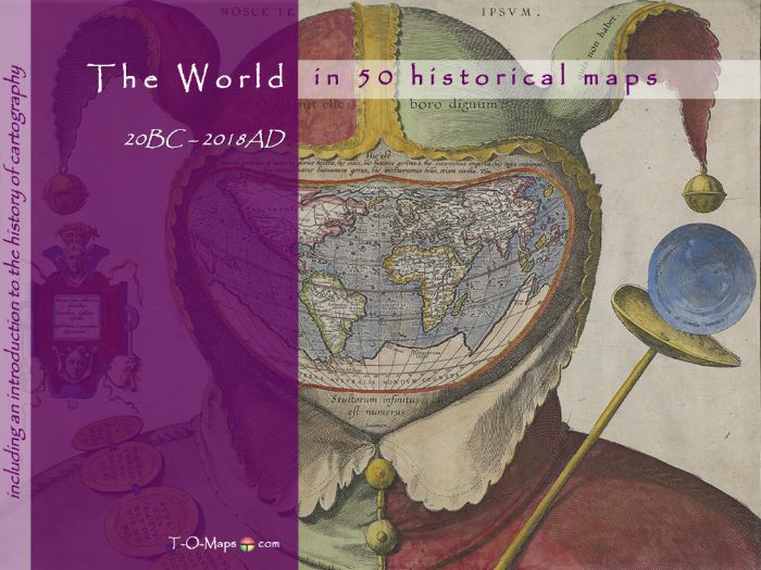 The world in 50 historical maps: 150AD-2018 (142 pages)