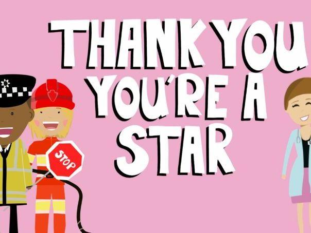 Music video for preschool children - 'You're a Star'