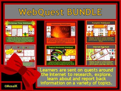 Web Quests in a BUNDLE