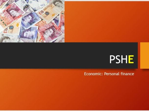 PSHE Personal Finance