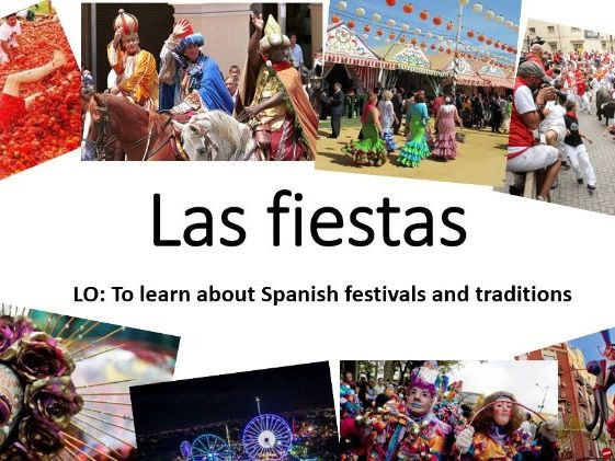 Spanish Festivals (@home)