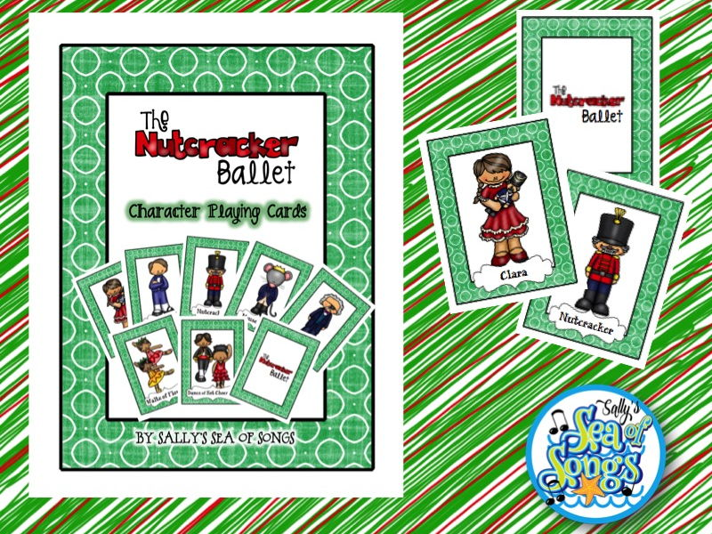 Nutcracker Character Card Game