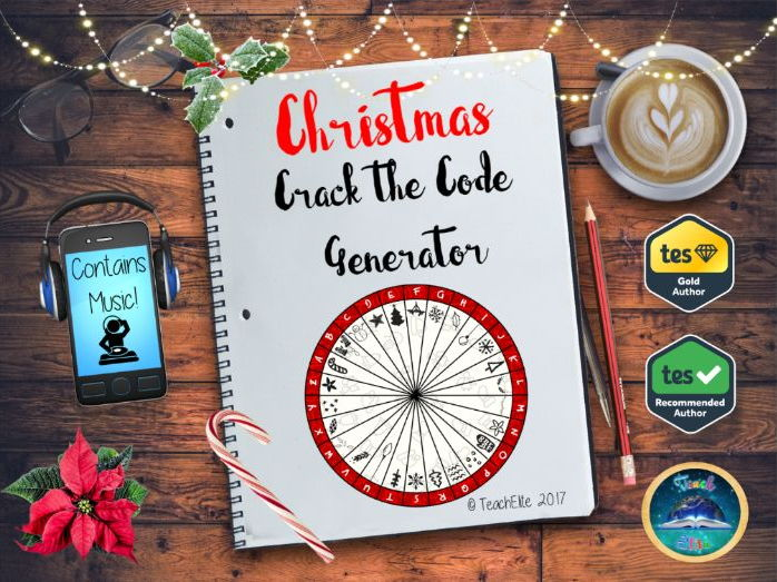 Christmas: Interactive Crack the Code Wheel