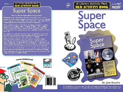 Library Activity Pack: Super Space Activity Book