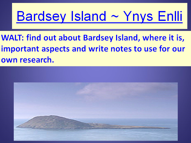 Bardsey Island & Survival ~ A COMPLETE set of 17 Non-Fiction lessons. Inc: Numeracy Task
