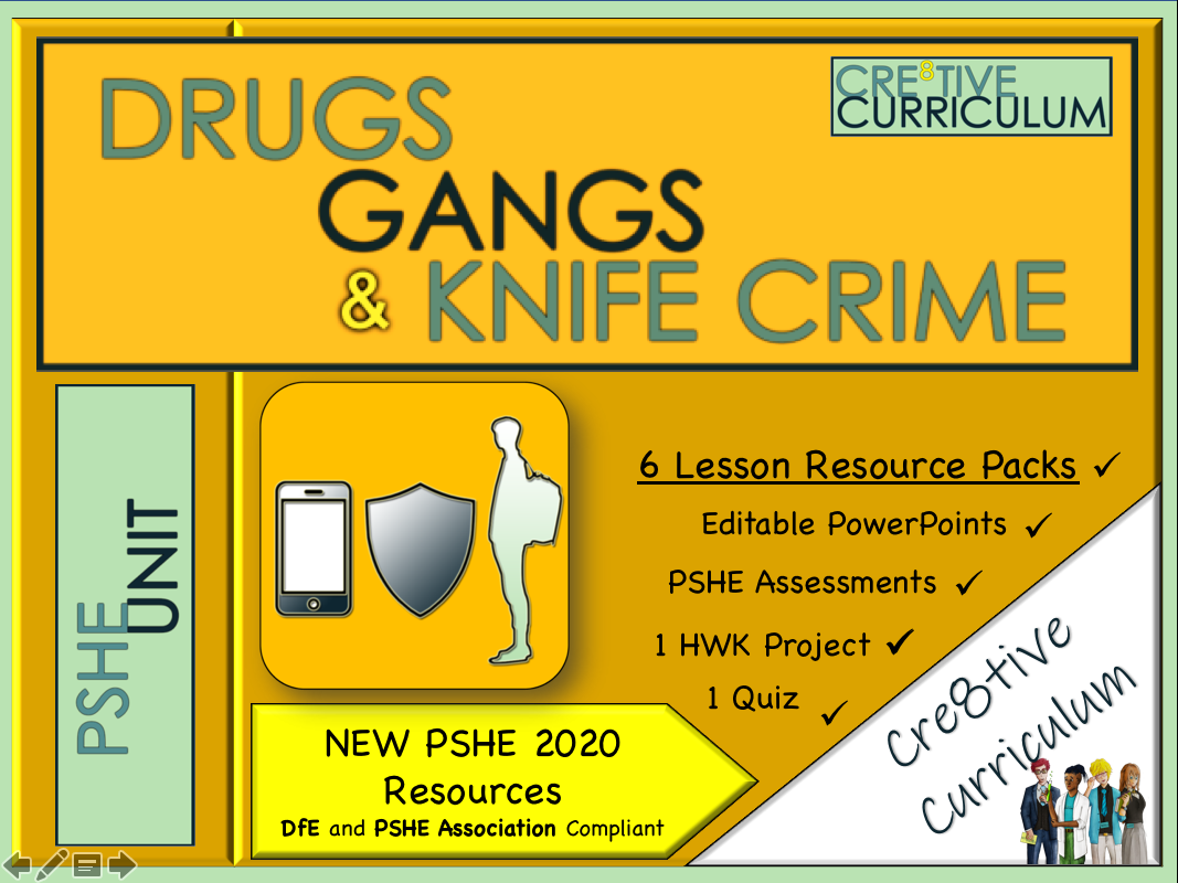 Online Safety + Drugs + Gangs Unit