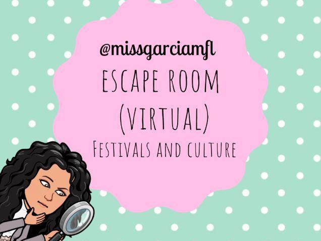 Escape room Spanish Culture and Festivals (VIRTUAL)