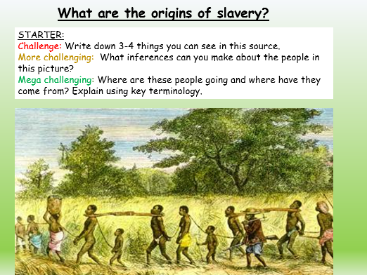Slavery introduction