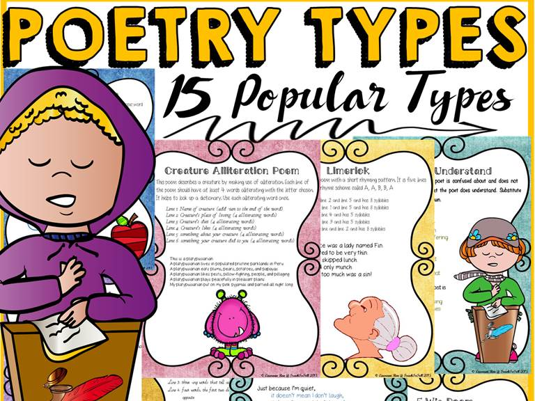 Poetry:TYPES OF POEMS