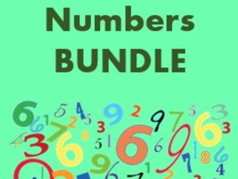 Números (Numbers in Spanish) Bundle