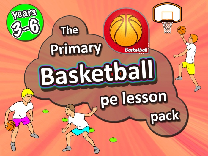 Basketball PE lessons - Sport unit with plans, drills, skills & games - years 3-6
