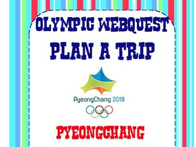 Olympic Webquest- Plan a Trip to the Winter Olympics