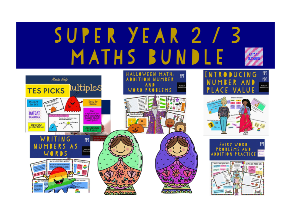 Maths Bundle Year 3 / 2