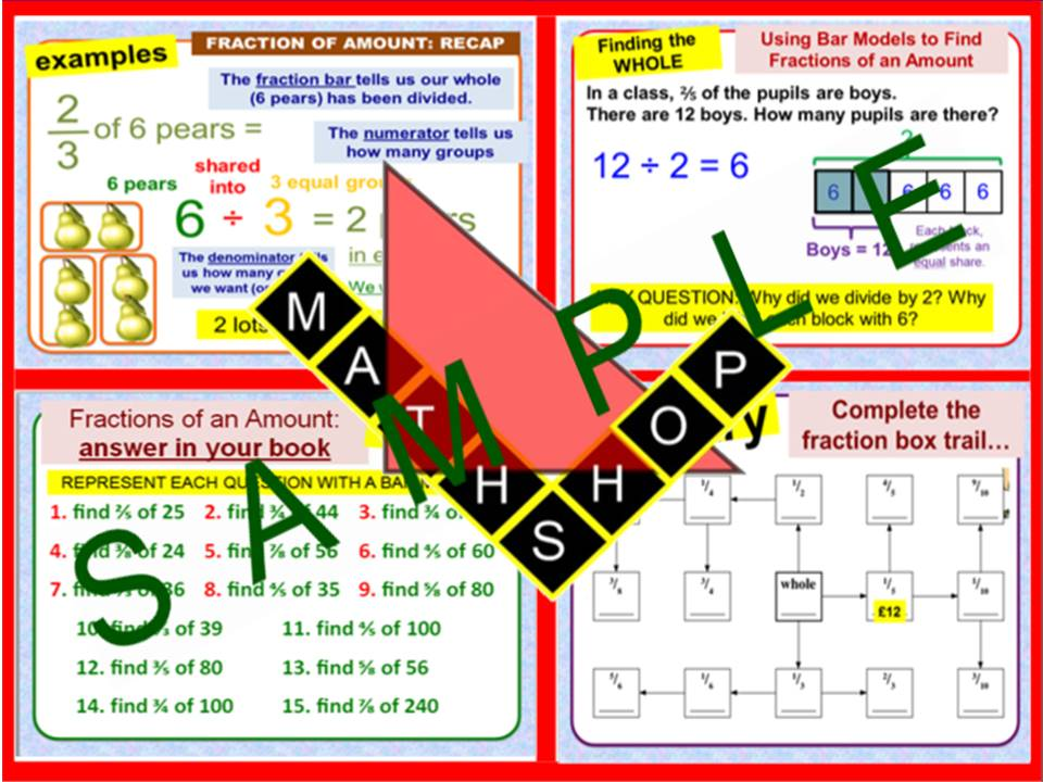 Fraction GCSE Revision (6 Lessons)