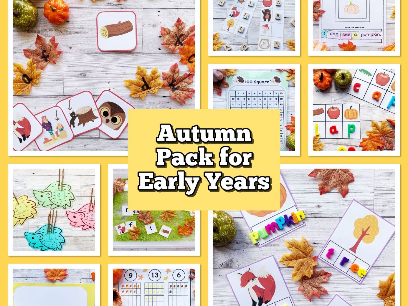 Autumn Pack for Early Years