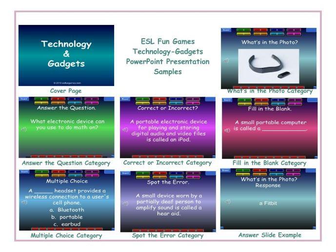 Technology-Gadgets PowerPoint Presentation