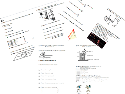 Revision Worksheet - Measurement, States of Matter, Forces, Simple Machines, Work, Energy, Power