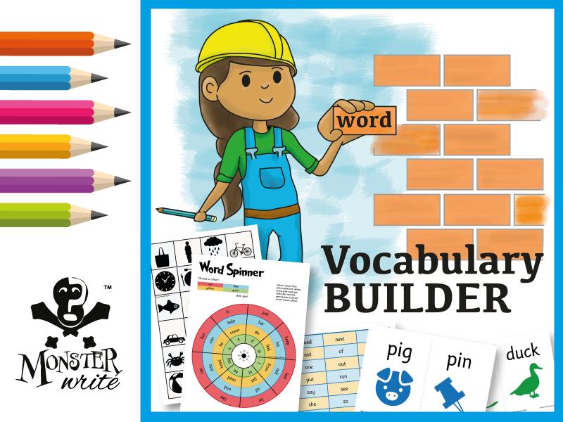 Phonics Vocabulary & Spoken Grammar Builder