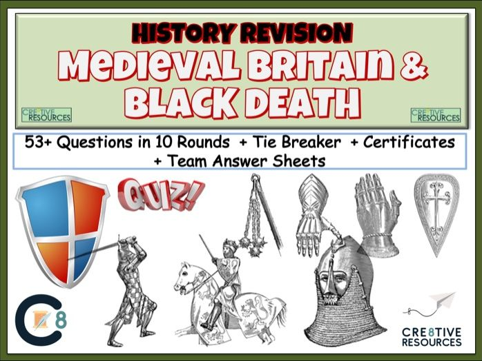 Medieval Britain Inc Black Death