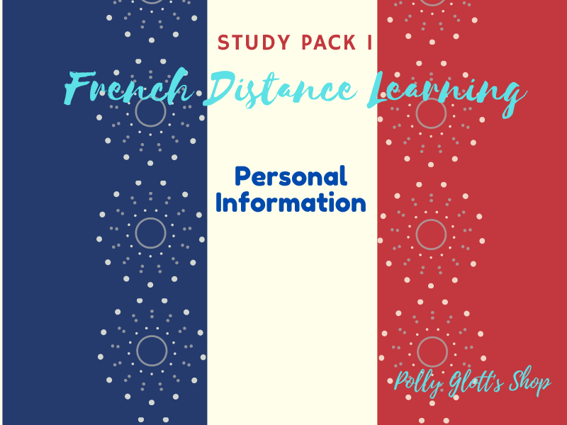 French Distance Learning Personal Information