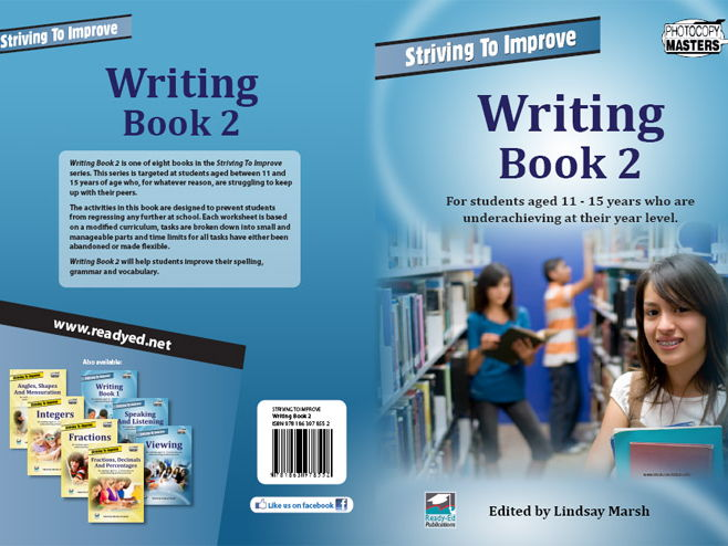 Striving to Improve Series: Writing 2 (Australian E-book for students at risk)