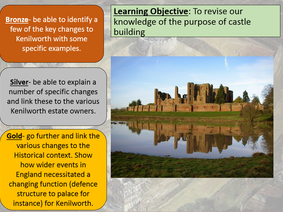 OCR Castles Form and Function Revision Complete