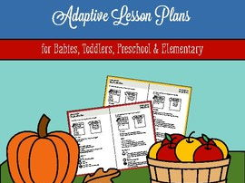 Fall Preschool Learning Activities