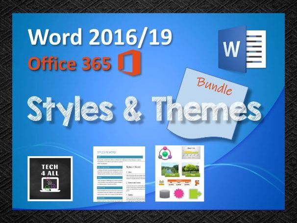 Styles & Themes in Microsoft Word