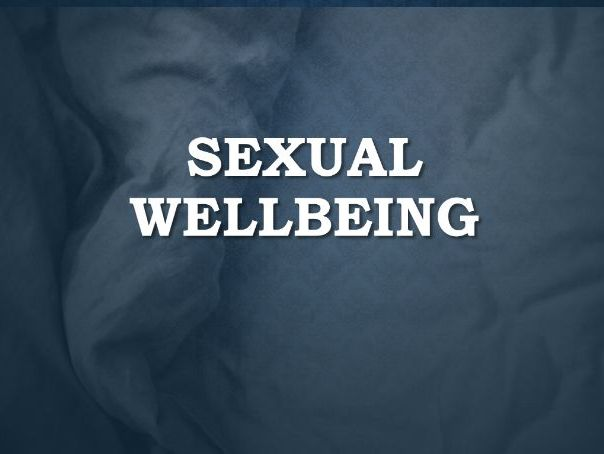 Sexual Wellbeing Lesson