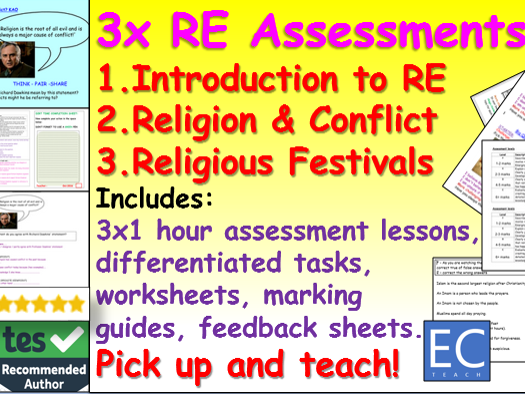 RE Assessment Pack KS3