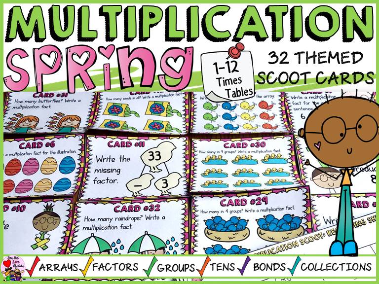 SPRING MULTIPLICATION SCOOT