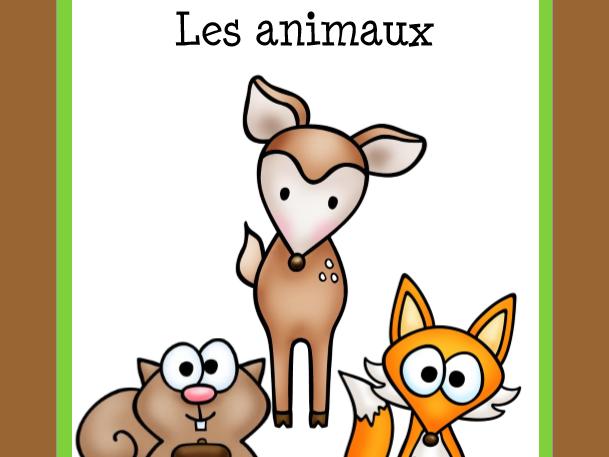 Vocabulaire des animaux  (Animals Vocabulary)