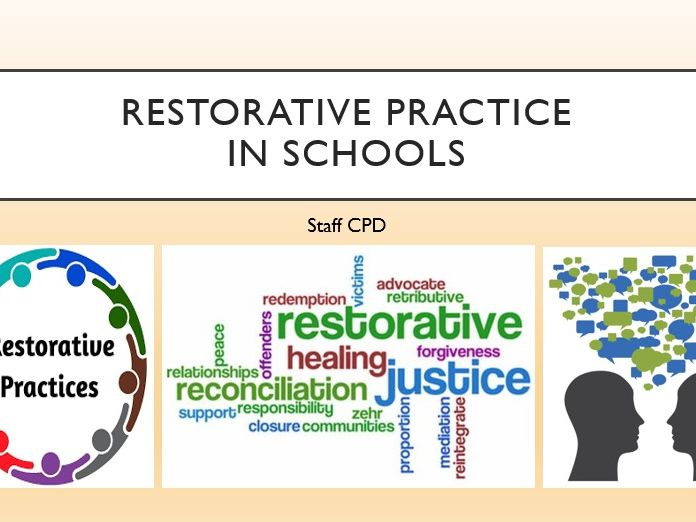 Restorative Practice in Schools - STAFF CPD TRAINING - INSET