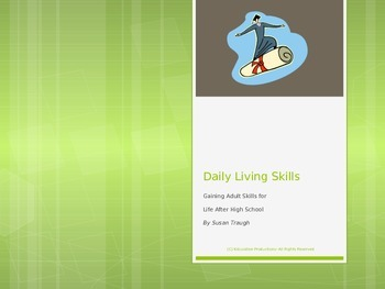 Daily Living Skill Into PowerPoint