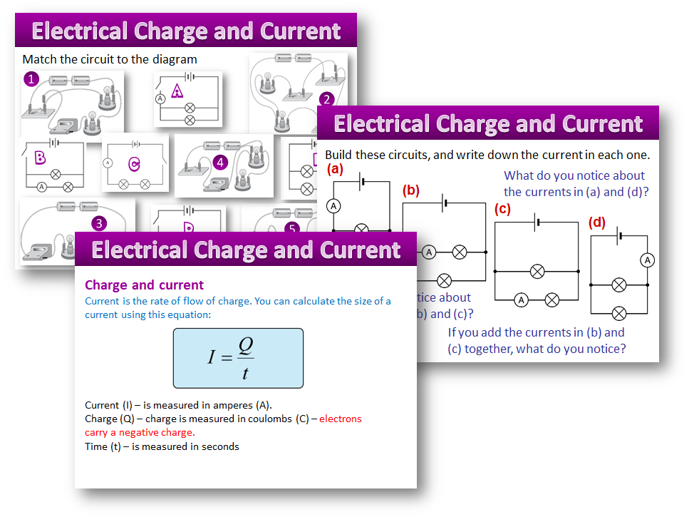 Electrical Charge and Current